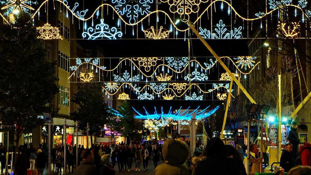 The Inexeter Christmas Lights Switch On Radio Exe