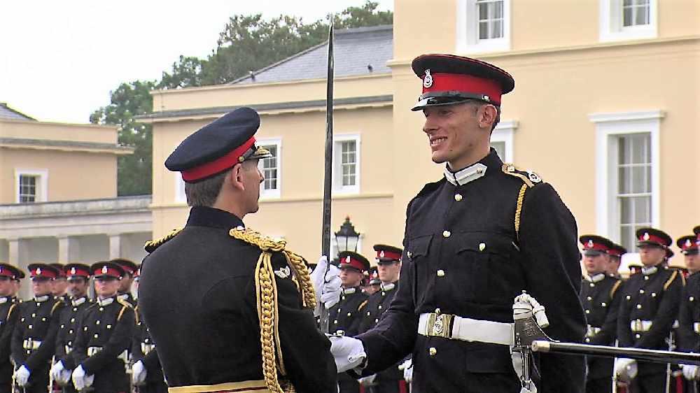 Exeter man awarded Sword of Honour - Radio Exe