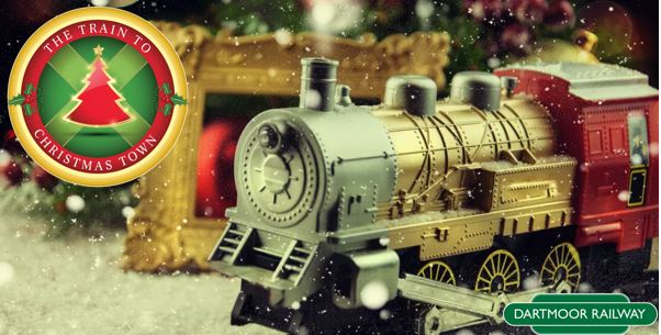 win tickets on the train to christmas town at dartmoor railway - Train To Christmas Town