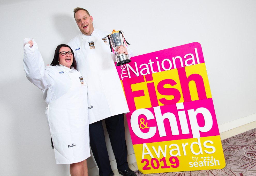 Krispies wins national fish and chip award