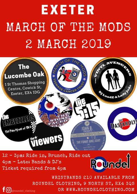 Exeter March of the MODS - Radio Exe