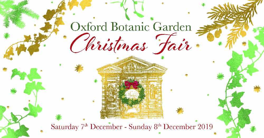 Oxford Botanic Garden Christmas Fair Jackfm