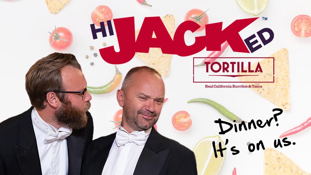 Fancy dinner with Trev & Rich?