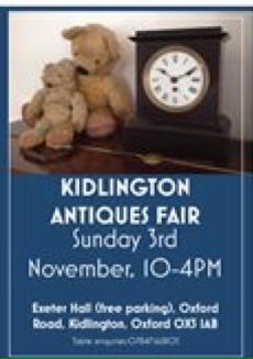 Kidlington Antiques Fair Exeter Hall Kidlington Ox5 1ab Jackfm