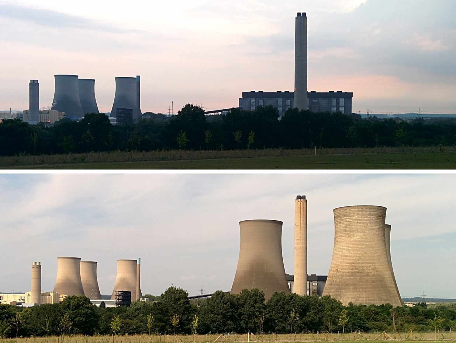 Cooling Tower Demolition : Iconic didcot cooling towers demolished jackfm