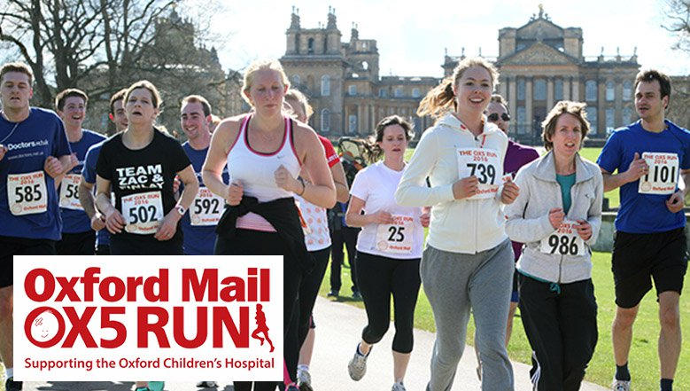 The Oxford Mail OX5 Run 2019