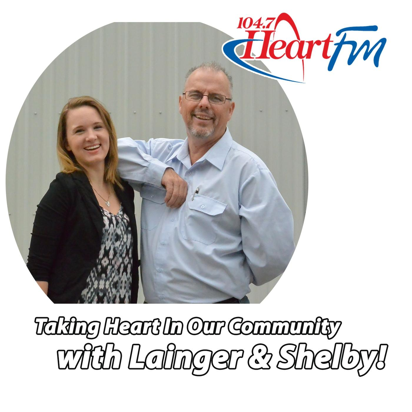 Taking Heart in our Community with Lainger & Shelby