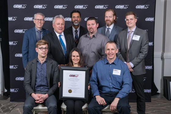 Ingersoll Wastewater Treatment Plant Named Project of the Year