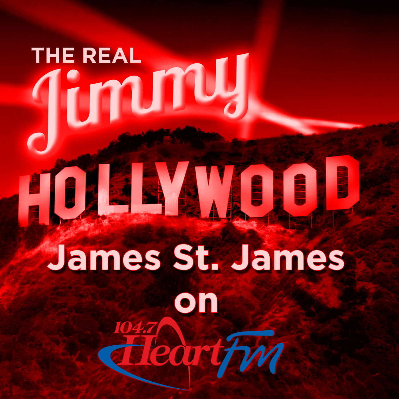 The Real Jimmy Hollywood On Heart FM