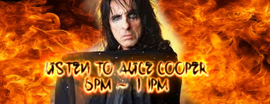 Alice Cooper on 997 Classic Rock