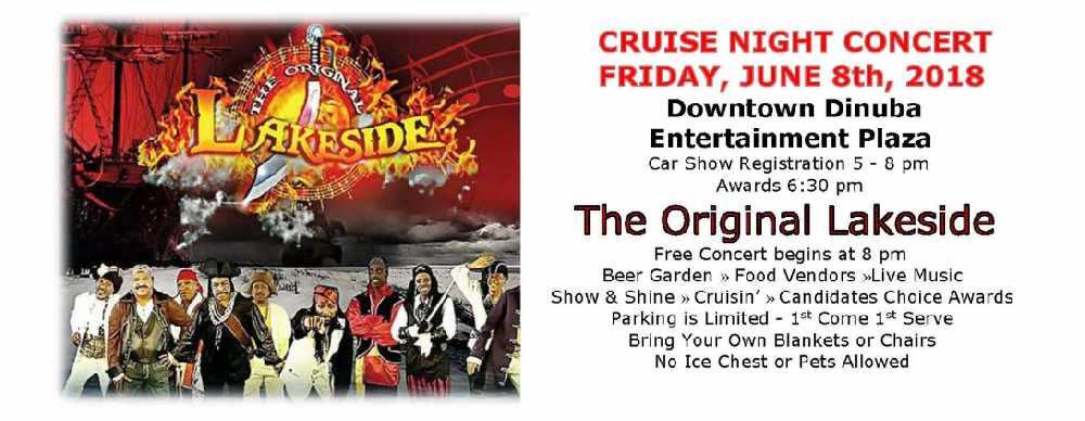 Cruise Night Concert in Dinuba - 997 Classic Rock