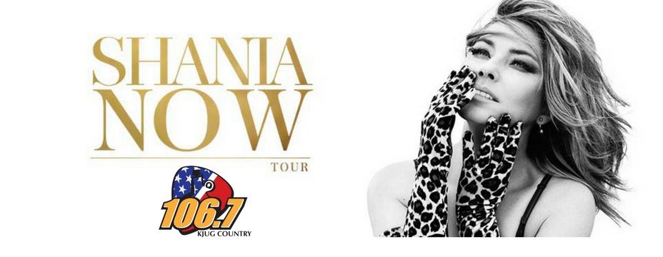 Shania Twain!
