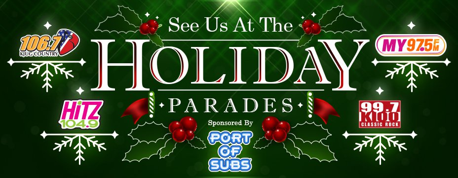 CHRISTMAS PARADE SCHEDULE