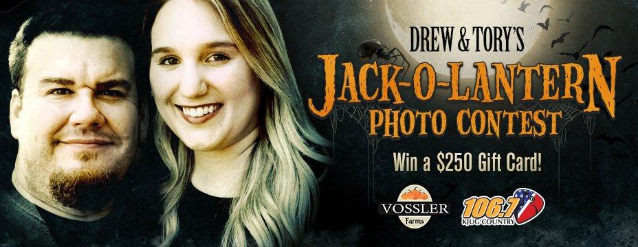 Drew & Tory's Jack-O-Lantern Photo Contest!