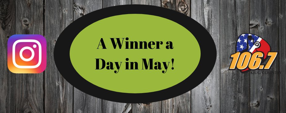 WINNER A DAY IN MAY