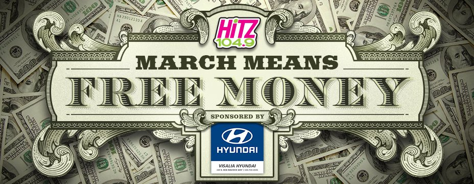 March Means Free Money