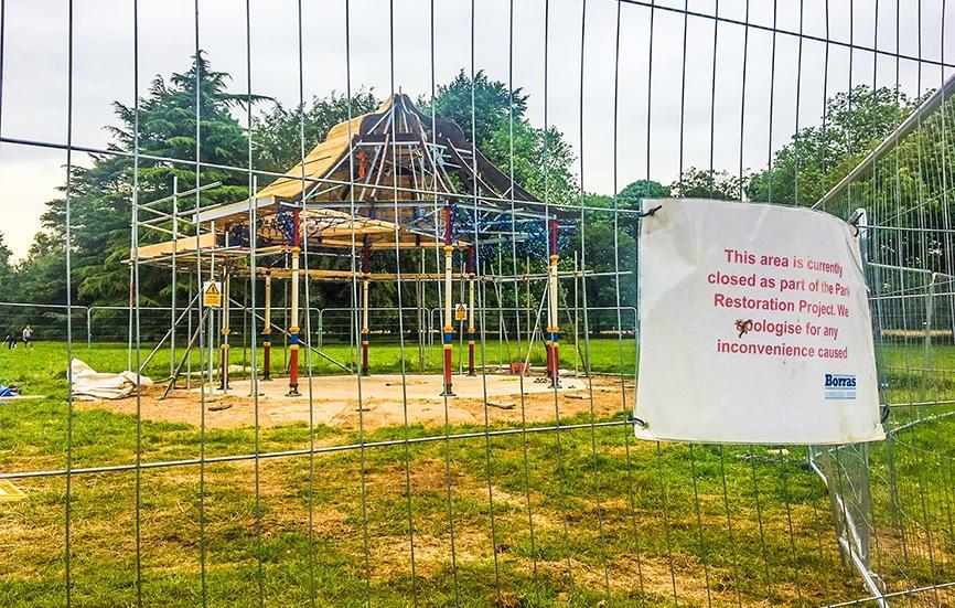 news pictures million cassiobury park restoration taking shape