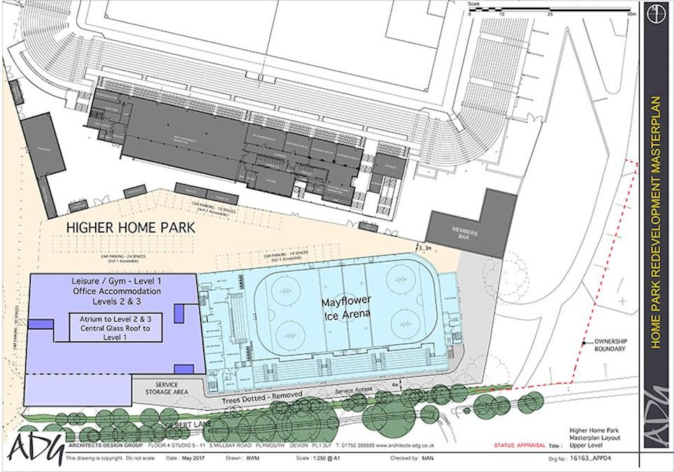 Ice Rink Plans For Home Park Unveiled