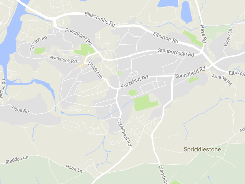 You can share your views of new road improvements in Plymstock