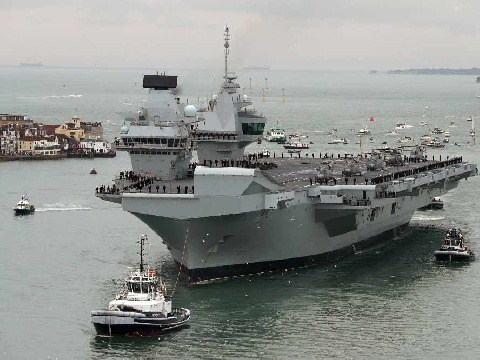 A 'little bit of Plymouth' for new Aircraft Carrier