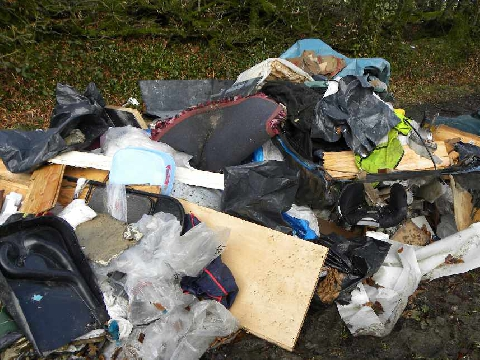 Skip operator prosecuted for dumping waste on Dartmoor