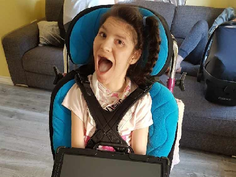 Plymouth teen gets her 'voice' back after tech theft