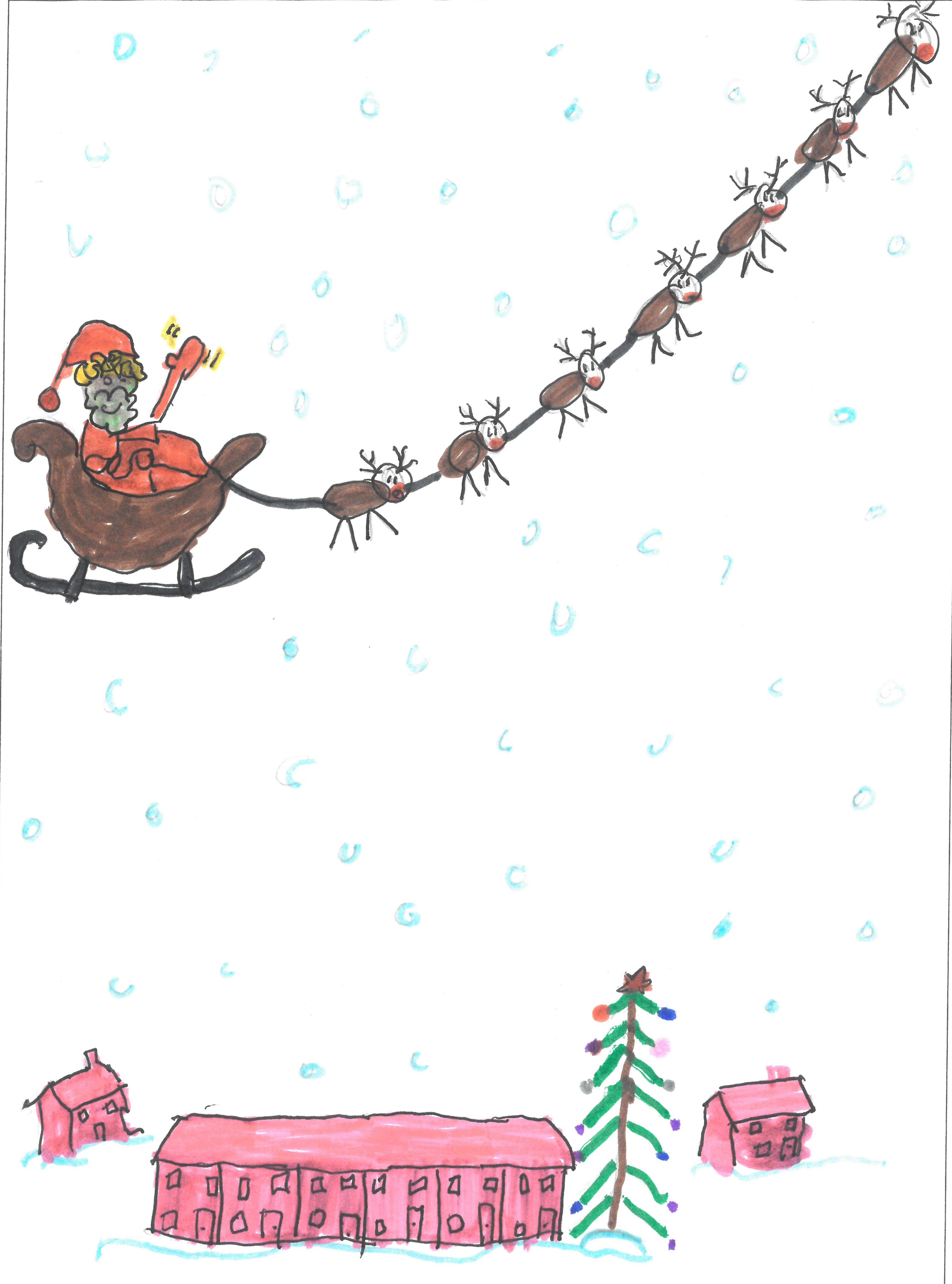 Design a Christmas Card - 2018 Winner - Radio Plymouth