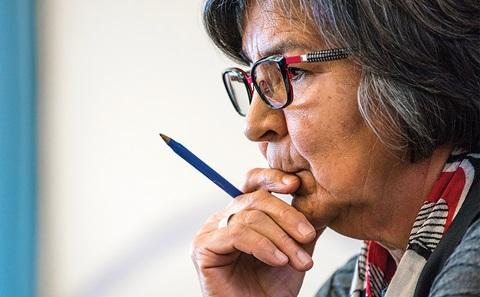 Dr. Patricia Makokis of Saddle Lake Cree Nation