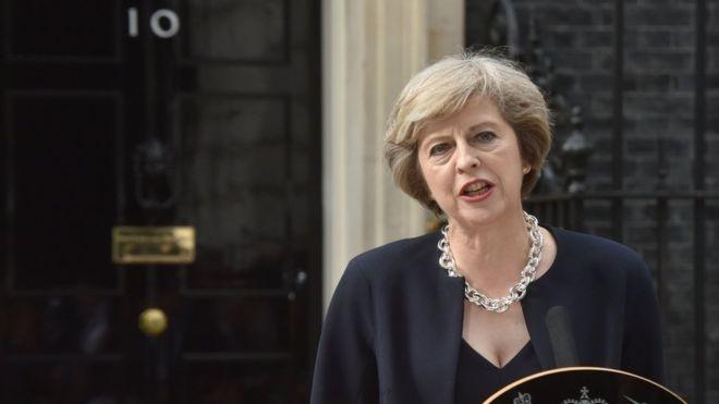 Theresa May Due To Visit Dublin Today