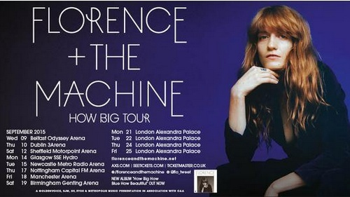 florence and the machine ticketmaster