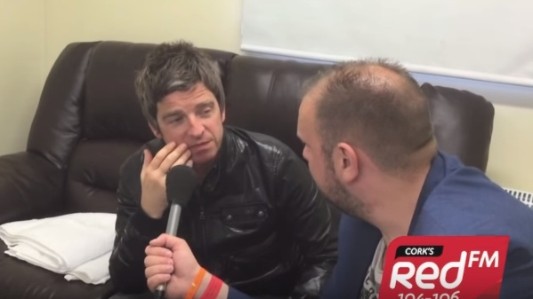 WATCH: KC Talks To Noel Gallagher Ahead Of His Live At The Marquee Gig