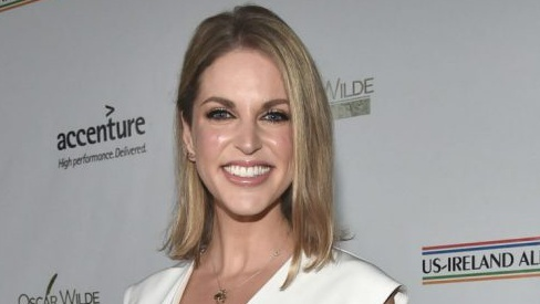 Amy Huberman's amazing bag will make you wish it was party season