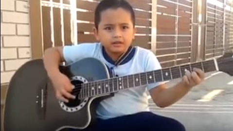 WATCH: Check out this 7-year-old playing Metallica's Nothing Else Matter