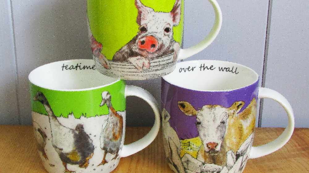 Cork Crafts - Annabel Langrish Mugs