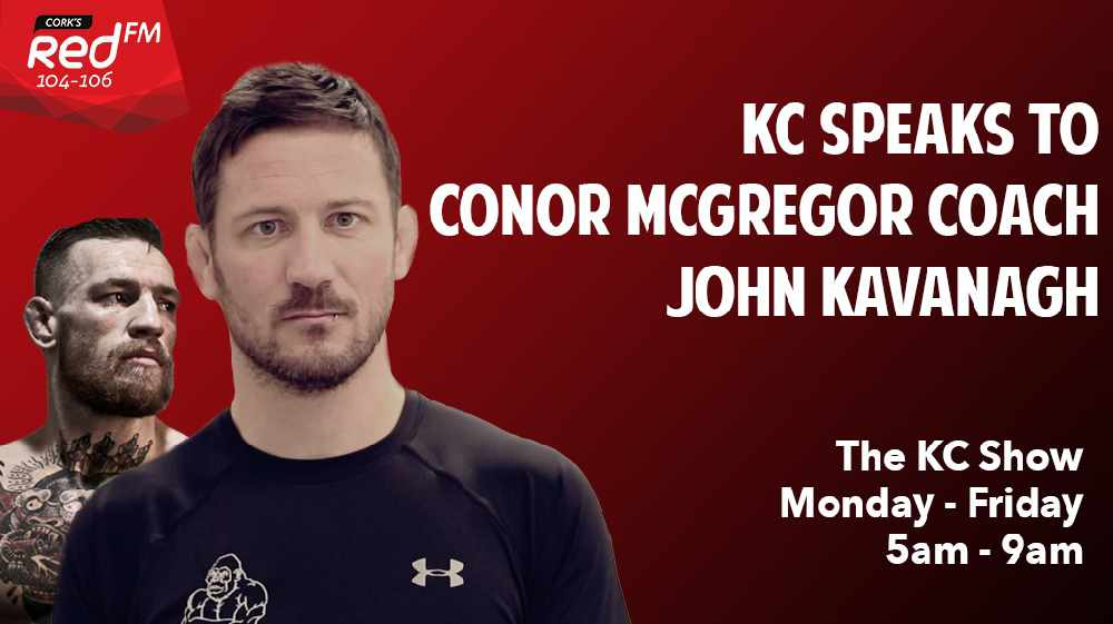 EXCLUSIVE: KC Speaks to Conor McGregor Coach John Kavanagh