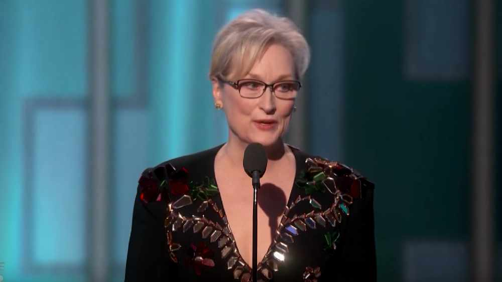 WATCH: Meryl Streep Attacks Donald Trump in Golden Globes Speech