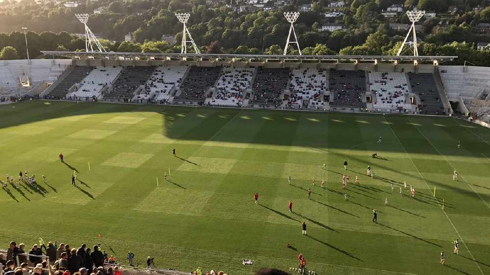 Valley Rovers & Cork GAA Winners after Pairc Ui Chaoimh Opener