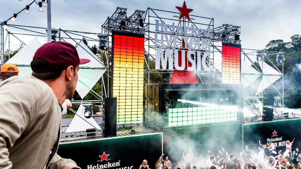 Heineken® Live Your Music Debuts At Electric Picnic With Crowd Responsive Space