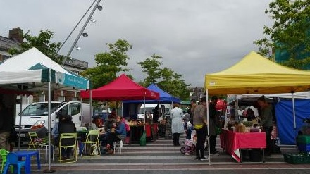 The Coal Quay Family Festival is being held on Cornmarket Street today