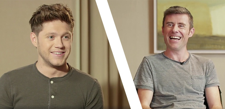 Dave Mac Speaks To Niall Horan