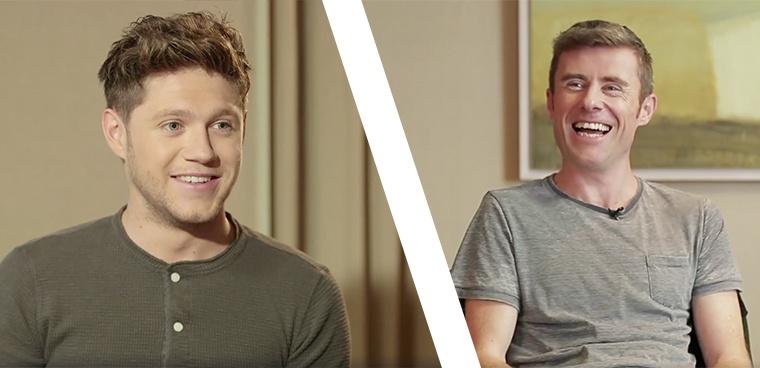 Dave Mac Speaks To Niall Horan