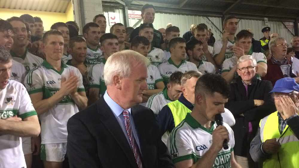 AUDIO: Post Match Interviews with County Champions Kanturk