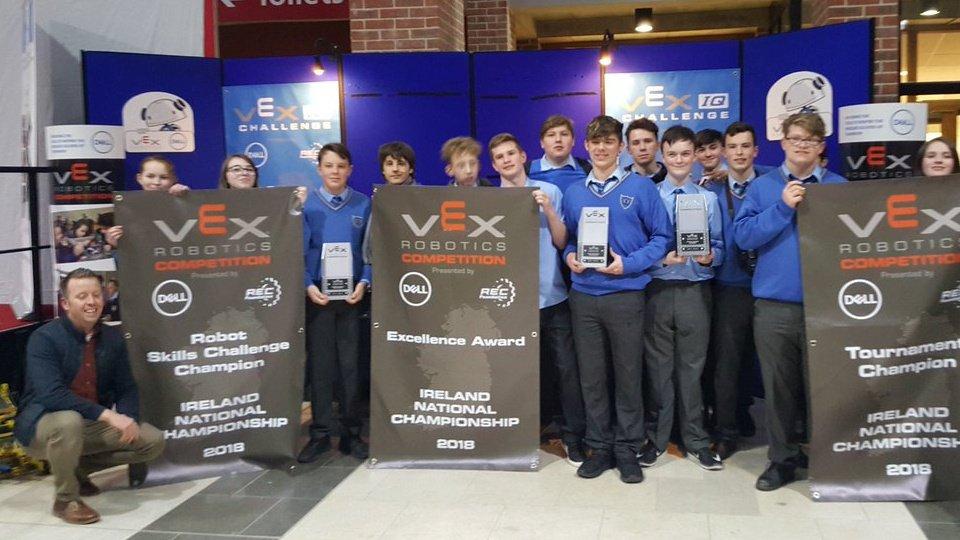 VEX Robotics Team From Kinsale Community School To Represent Ireland