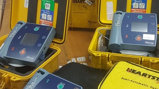Cork City Fire Brigade Are Offering 6 Defibrillators To Community Or Voluntary Groups