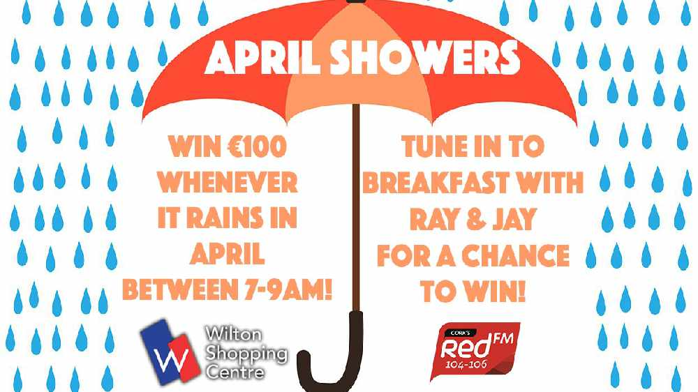 April Showers - Win €100 When It Rains With Wilton Shopping Centre