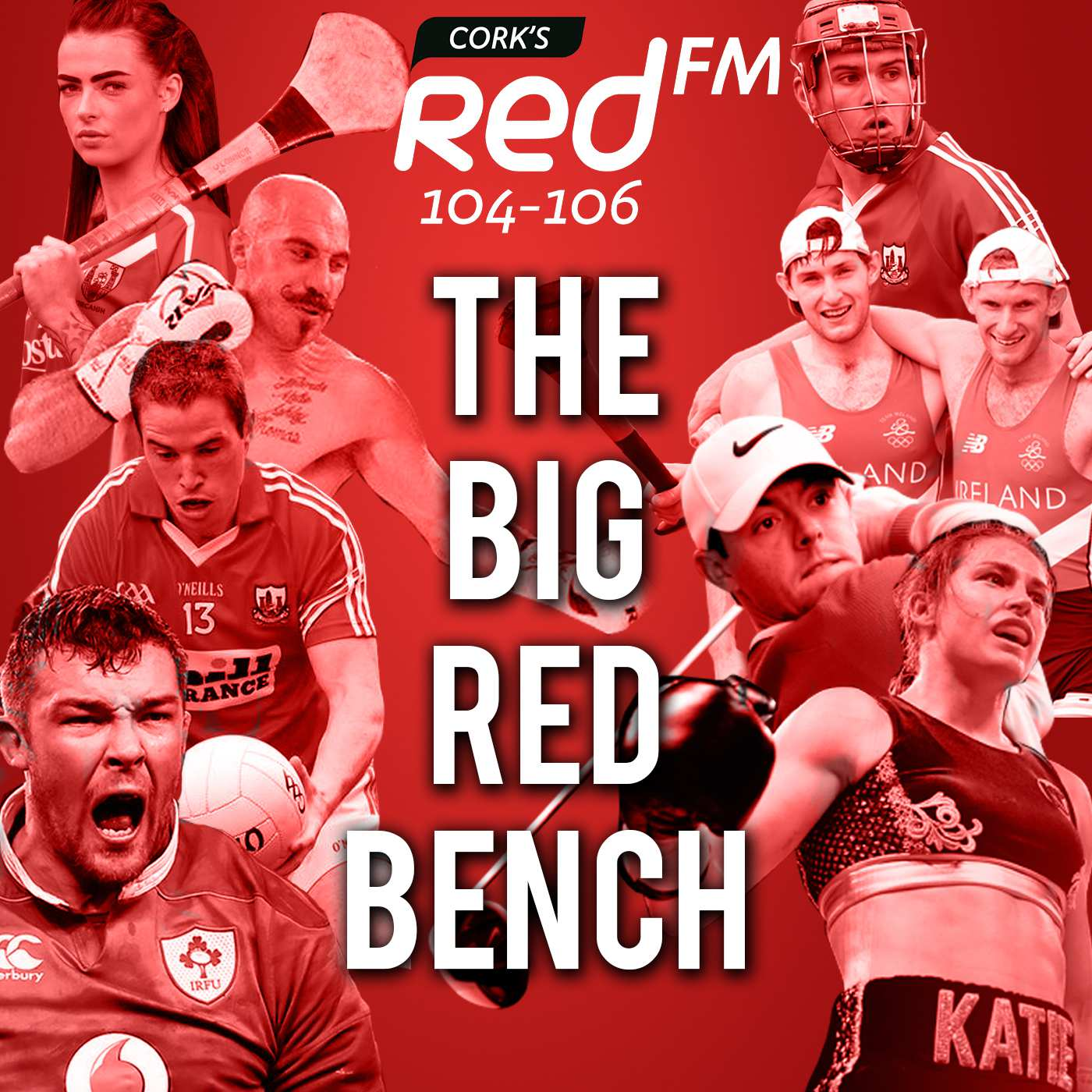 The Big Red Bench