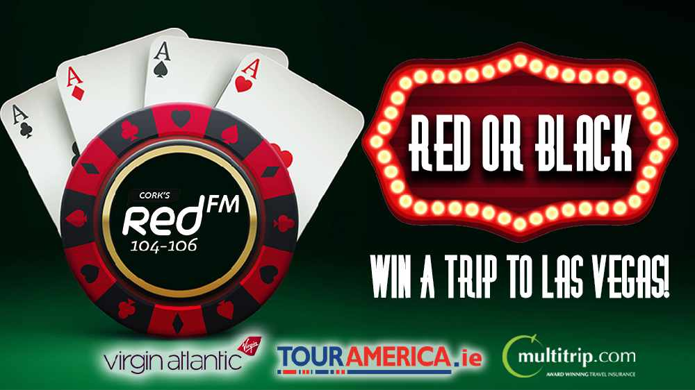 Red Or Black - Win A Trip To Las Vegas!