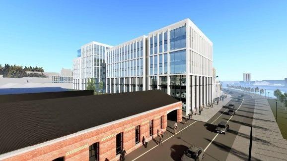 Planning Permission Lodged For €125 Million Office Development Near Kent Railway Station