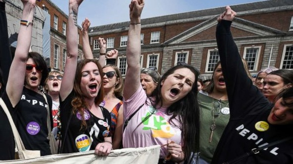 Ireland Votes To Repeal The 8th Amendment By A Two To One Majority