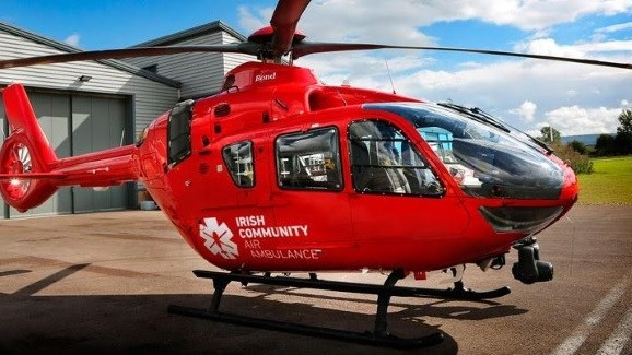 Ireland's Community Air Ambulance Service Will Not Have A Doctor On Board As Part Of Its Medical Crew
